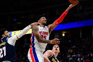 NBA: Pistons' Wood tests positive for coronavirus -- reports