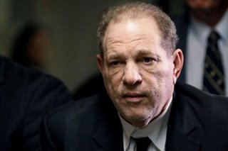 Harvey Weinstein tests positive for coronavirus in prison: union official