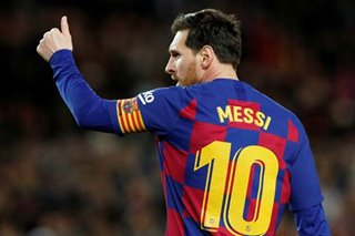 Football: Messi, Guardiola donate one million euros each to coronavirus battle