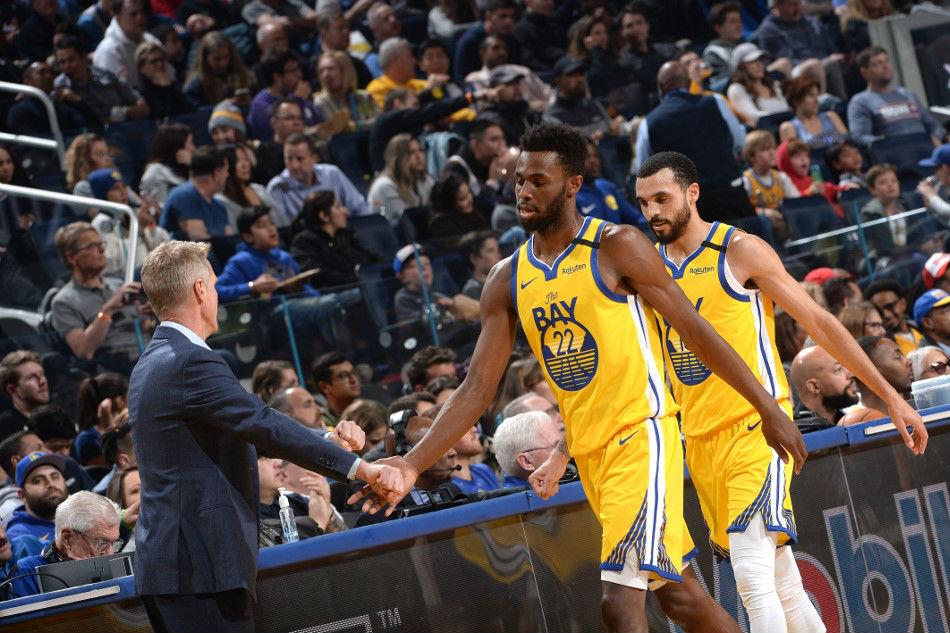 Coach Kerr says it feels as if Warriors' season has ended