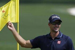 Golf: Adam Scott live-streams 'round with a mate'