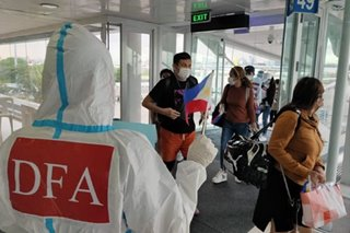 335 stranded, overseas Filipinos arrive from Japan, Kuwait