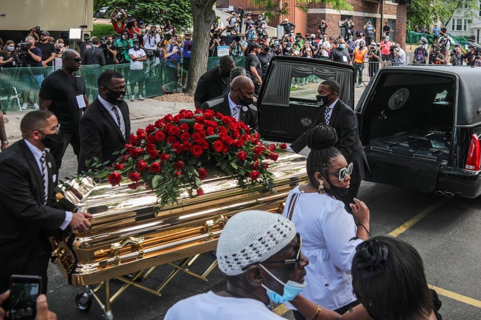 Minneapolis says farewell to George Floyd