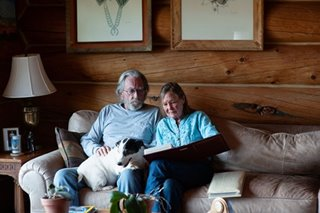 Meet the masters of social distancing: Couple live alone in wilderness for decades