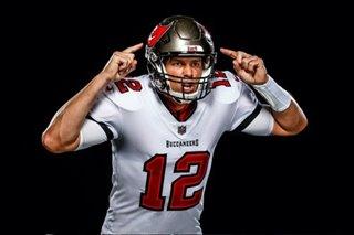 NFL: Buccaneers release photos of Brady in uniform