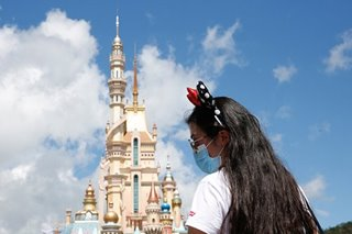 Hong Kong's Disneyland reopens after five-month coronavirus break