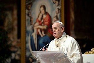 Pope says coronavirus should spark new environmental awareness