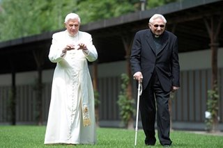 Former pope Benedict to return to the Vatican on Monday