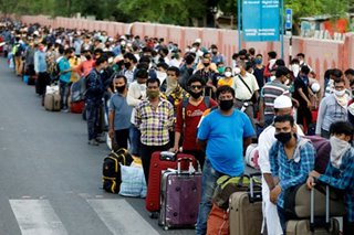 Millions of migrant workers head home due to coronavirus: UN