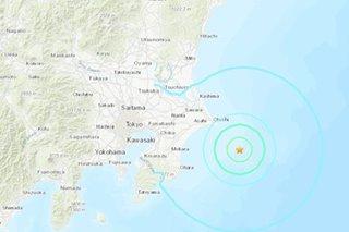 Magnitude 6.2 quake rattles eastern Japan, including Tokyo area