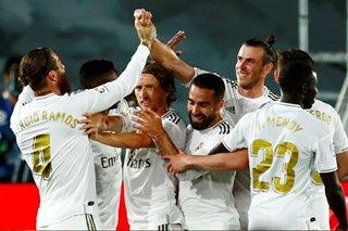 Football: Ramos free-kick sends Madrid back to top of La Liga