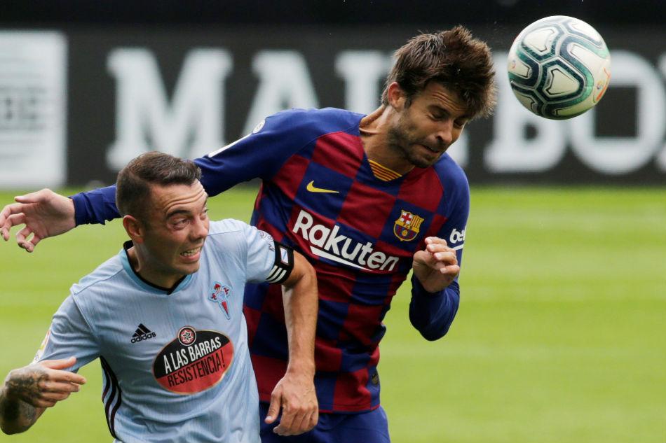 Celta Vigo striker Iago Aspas on Barcelona point: We could've won