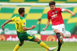 Football: Late extra-time Maguire winner edges United past Norwich