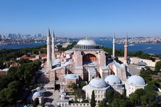 Russian church leader says calls to turn Hagia Sophia into mosque threaten Christianity