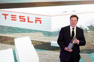 Tesla's value drops $50 billion as Musk's promised cheaper battery 3 years away