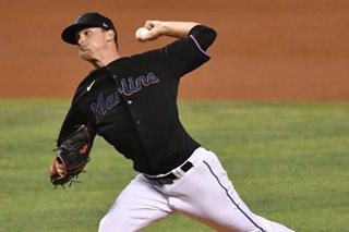 Baseball: Marlins salvage critical win against sloppy Braves