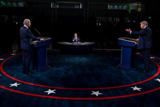 Donald Trump, Joe Biden hold heated debate