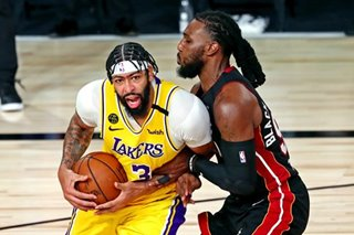 NBA: Anthony Davis dominates in first ever Finals game