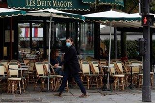 Paris cafes to shut as Europe confronts second virus wave