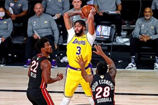 WATCH: Anthony Davis' clutch triple seals Lakers' Game 4 win in NBA Finals