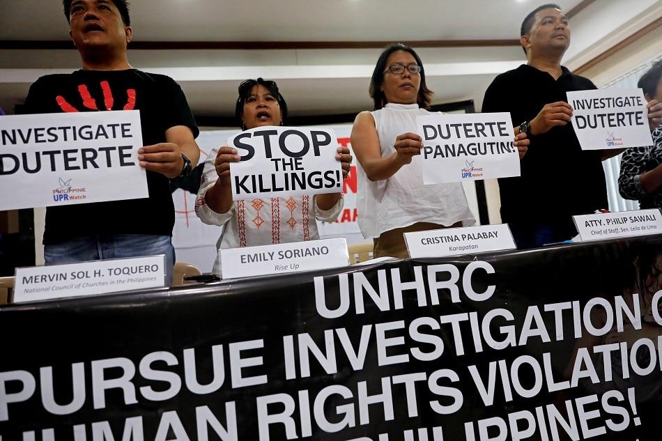 Activists say drug war fight not over, despite UNHRC 'letdown' 1