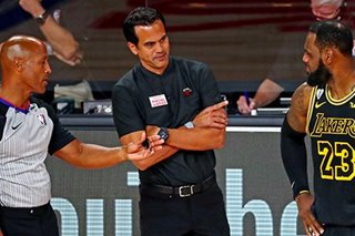 NBA Finals: Spoelstra after 'disappointing' loss — Proud of underdog Heat's fight
