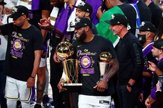 NBA Finals: Champ again, LeBron tells critics — 'I want my damn respect'