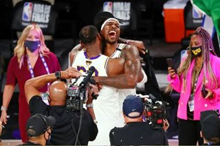 WATCH: How LeBron, Lakers clinched the NBA title over Heat