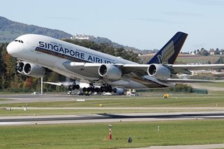 Stir-crazy 'passengers' gobble up tickets to dine on parked Singapore jets