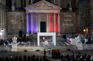 France pays tribute to slain History teacher