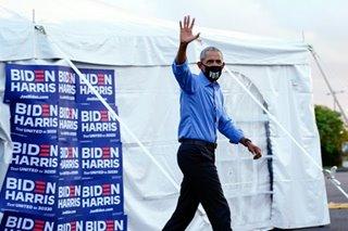 Obama back on campaign trail