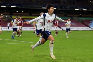 Football: Son strikes again as Spurs beat Burnley to move fifth
