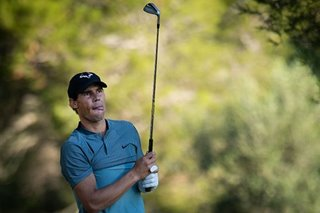 Nadal nets sixth place in Mallorca golf tournament