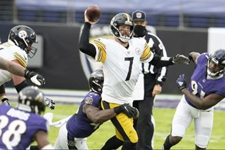 NFL: Steelers edge Ravens to stay perfect, best start since '78