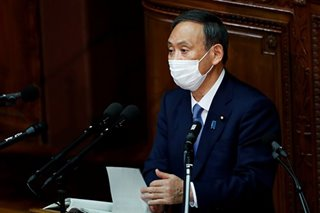 Japan's Suga signals readiness for new stimulus package