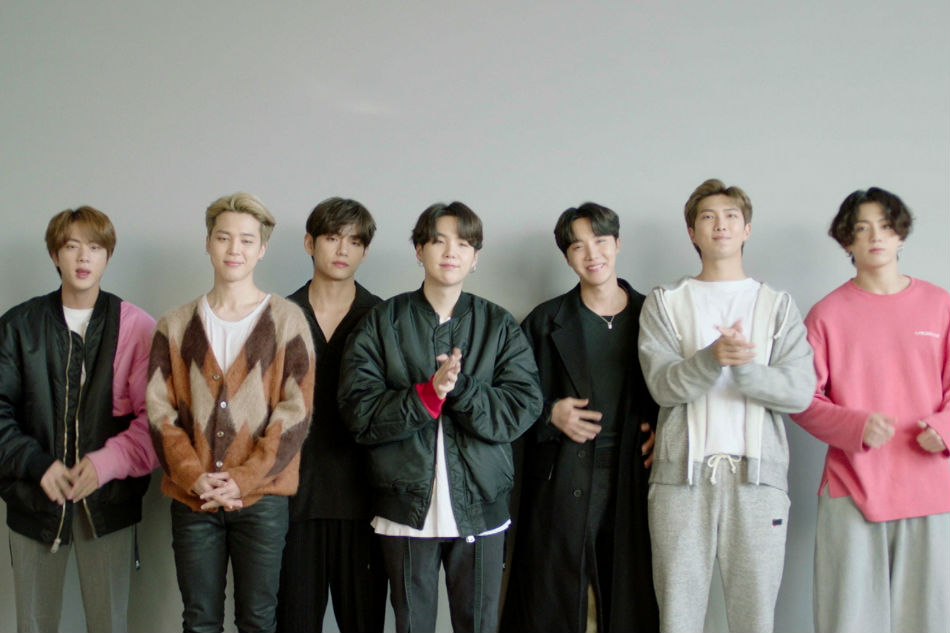 south korea s bts snags first ever grammy nomination for a k pop band abs cbn news bts snags first ever grammy nomination