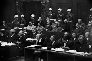 'Choking on blood': AFP's report on final day of Nuremberg trials