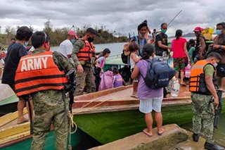 40,000 flee their homes in Camarines Sur amid Typhoon Ulysses