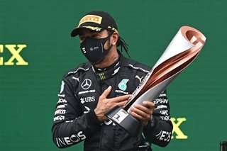 Hamilton wins record-equalling seventh F1 world title
