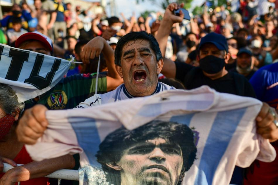Argentina mourns passing of football legend Maradona