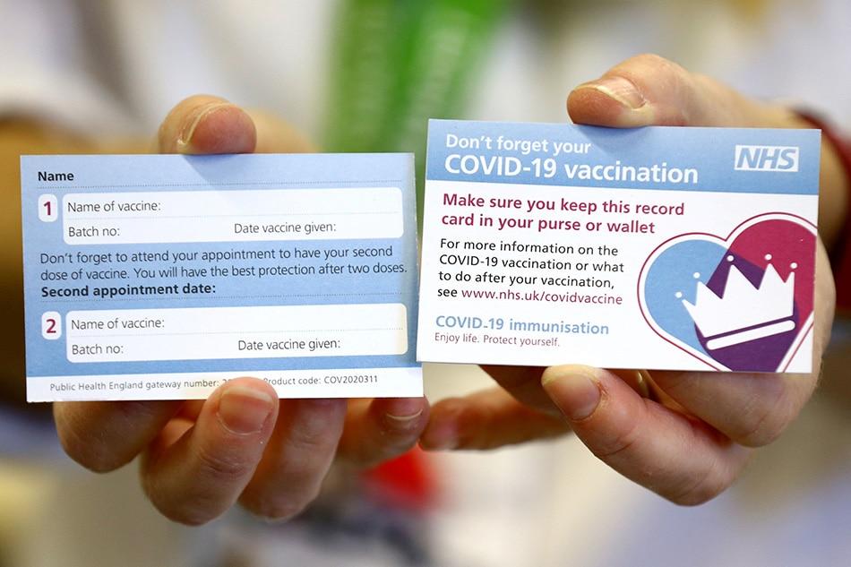 Undocumented workers kasama sa mass rapid vaccination ng UK