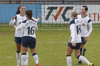 Football: Alex Morgan on target for Spurs in Women's Super League