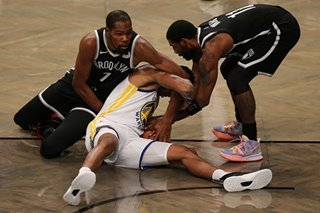 Durant, Nets open NBA season with rout of Warriors