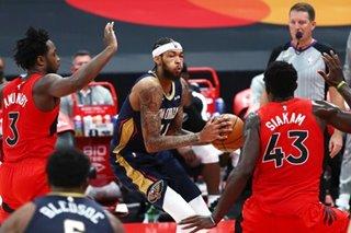 NBA: Pelicans rally to defeat host Raptors in opener in Tampa