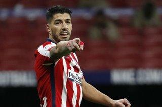 Football: Suarez ensures Atletico top La Liga at end of 2020