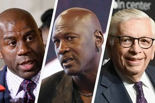 Magic, Jordan among NBA stars 'devastated' by Stern's death