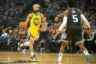 NBA: Kings rout short-handed Warriors