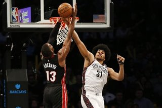 NBA: Nets snap 7-game skid by beating Heat