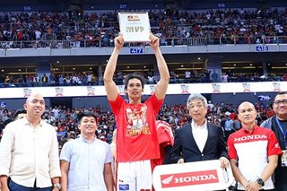 PBA: Strong on both ends of the floor, Japeth Aguilar named finals MVP