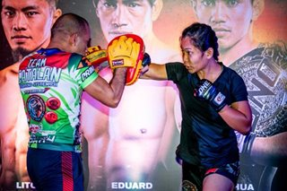 MMA: Jomary Torres skipped holidays to focus on training